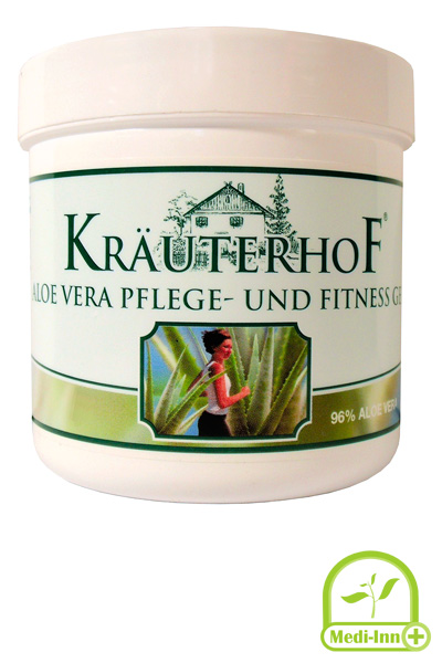 kr uterhof aloe vera pflege und fitnessgel k rpercreme pflegegel 100ml 250ml ebay. Black Bedroom Furniture Sets. Home Design Ideas