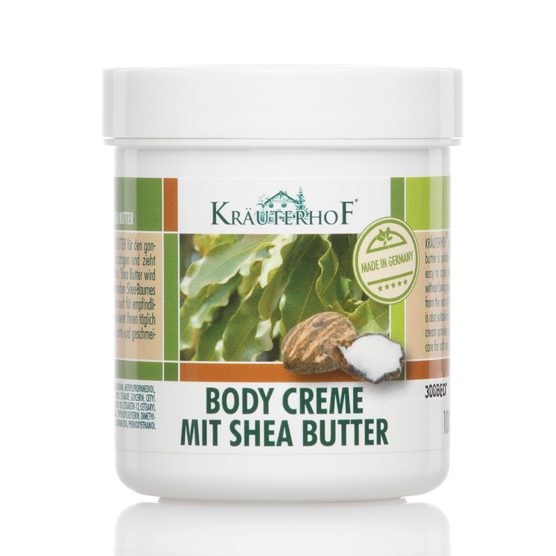 kr uterhof body creme mit shea butter k rpercreme 250ml ebay. Black Bedroom Furniture Sets. Home Design Ideas