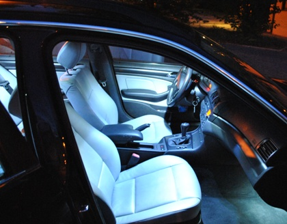 bmw 3er e46 touring led innenraumbeleuchtung 99 05 ebay. Black Bedroom Furniture Sets. Home Design Ideas