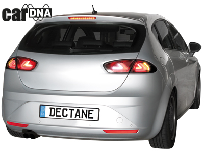 seat leon 1p cardna led r ckleuchten tail lights 09 black. Black Bedroom Furniture Sets. Home Design Ideas