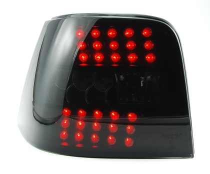vw golf iv 4 led r ckleuchten blinker extrem dark ebay. Black Bedroom Furniture Sets. Home Design Ideas