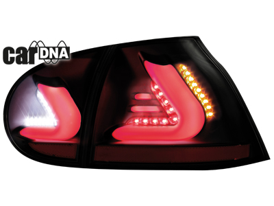 vw golf 5 cardna lightbar led r ckleuchten black smoke. Black Bedroom Furniture Sets. Home Design Ideas